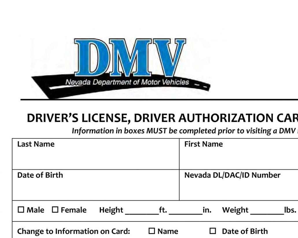 las vegas written drivers test